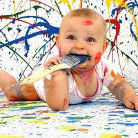 baby_amusing_paint_dirty_funny_b