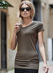 Ladies Fashion Stretch Tee Extra